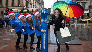 Jen Reoch launches Buchanan Street Top up Tap